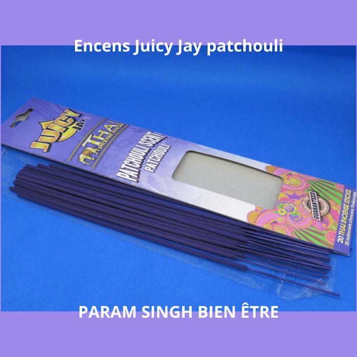 Encens juicy jay patchouli