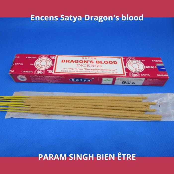 Encens satya dragon's blood 2
