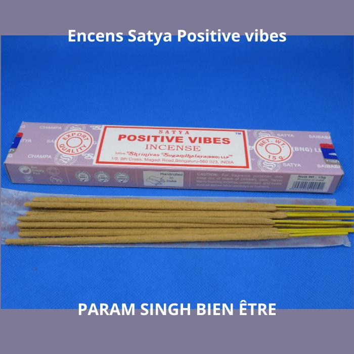 Encens satya positive vibes